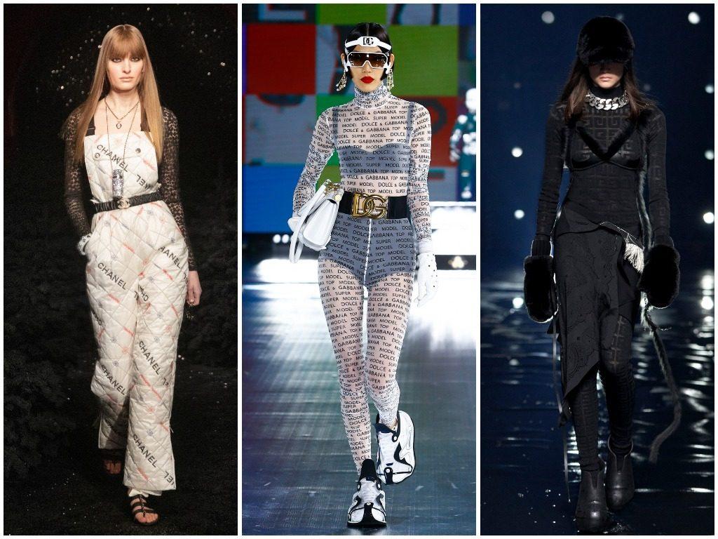 Chanel, Dolce & Gabbana, Givenchy осень-зима 2021-2022