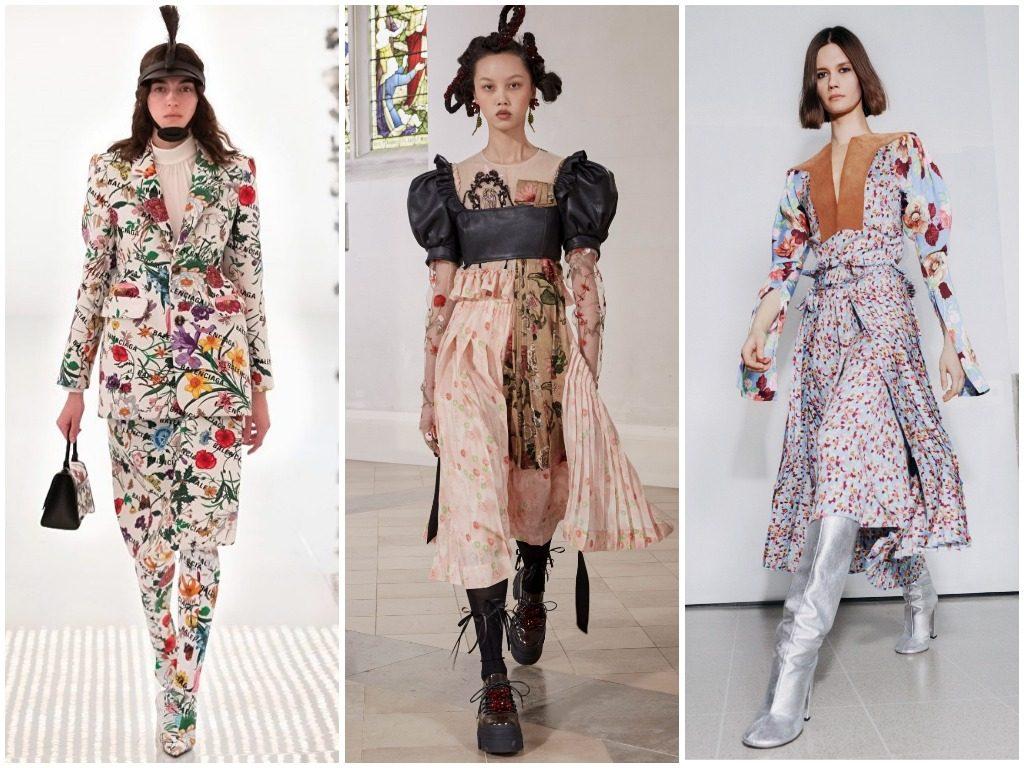 Gucci, Simone Rocha, Victoria Beckham осень-зима 2021-2022