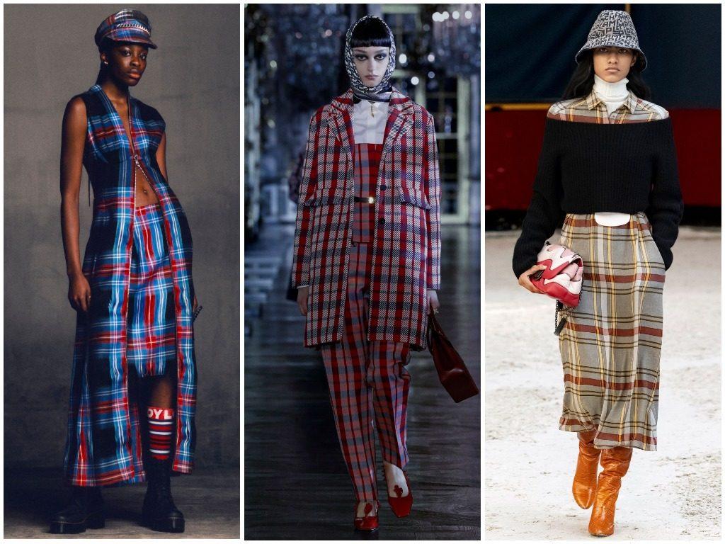 Charles Jeffrey Loverboy, Christian Dior, Longchamp осень-зима 2021-2022