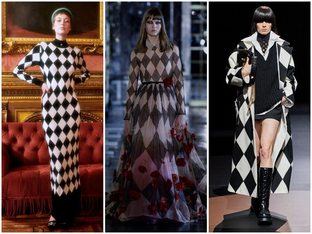 Casablanca, Christian Dior, Valentino осень-зима 2021-2022