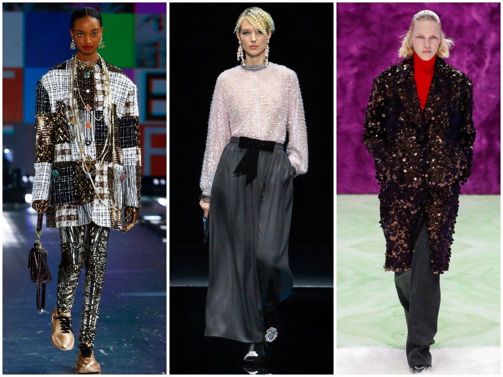 Dolce & Gabbana, Giorgio Armani, Prada осень-зима 2021-2022