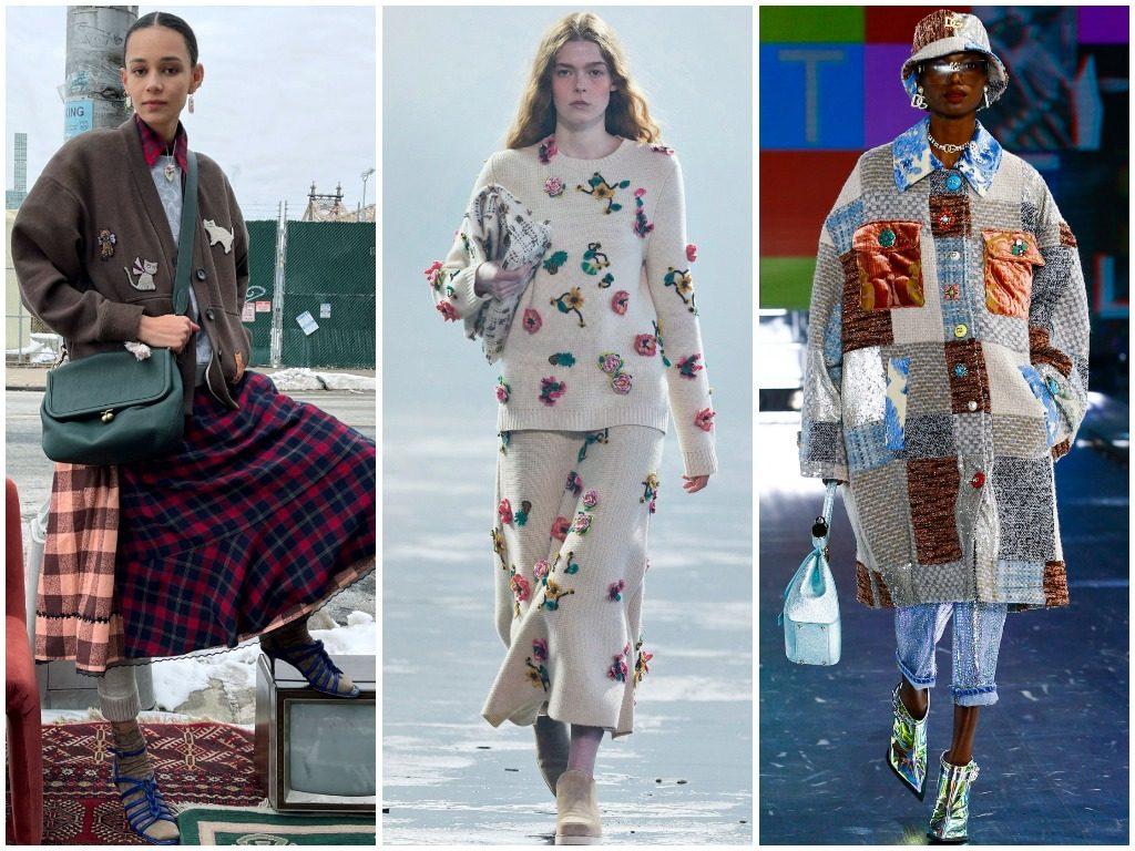 Coach, Gabriela Hearst, Dolce & Gabbana осень-зима 2021-2022
