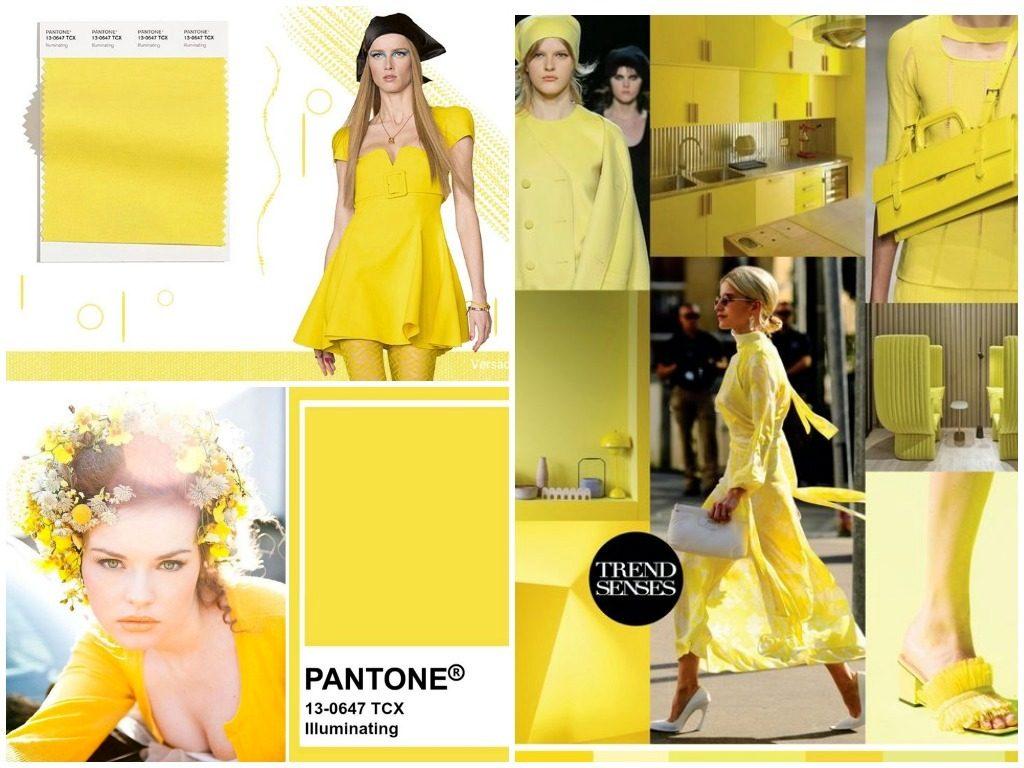 PANTONE 13-0647 Illuminating (Освещение)