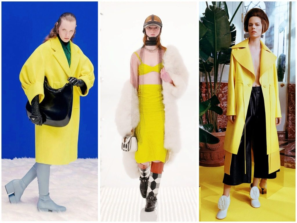 Prada, Gucci, Loewe осень-зима 2021-2022