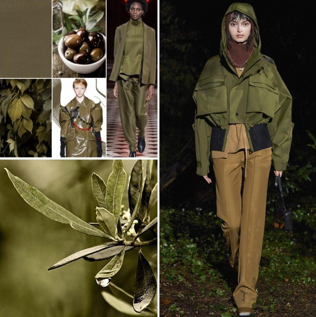 PANTONE 18-0527 Olive Branch (Ветка оливы)