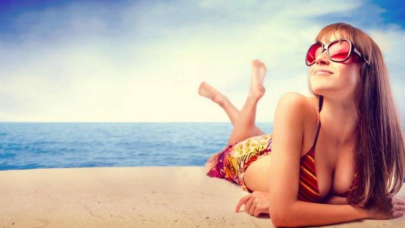 старение лица от солнечных ванн